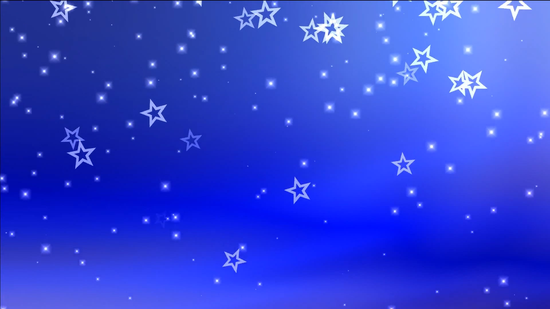 Classic Christmas Motion Background Animation Perfecty: Buy Animated Falling ☆ Stars & Particles Video On Blue