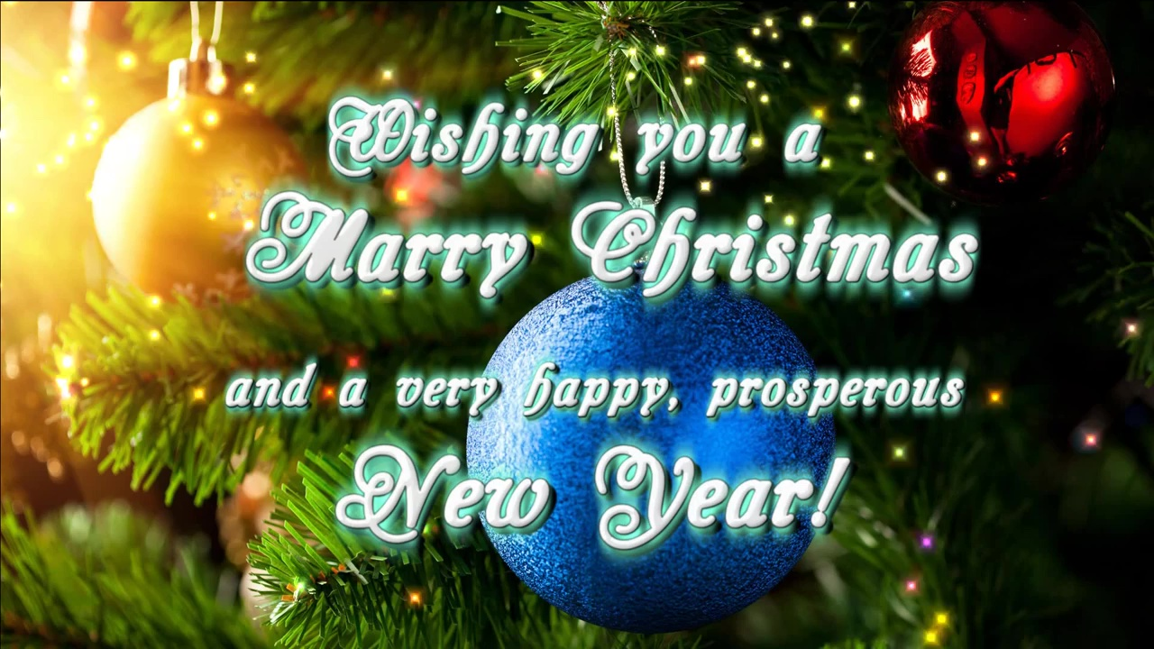Buy marry christmas intro video wishing with animated decoration buy christmas intro video kristyandbryce Choice Image