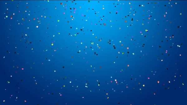 Buy Confetti Video background for Birthday