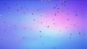 Buy Falling confetti video on color background