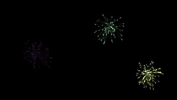 Buy fireworks video background