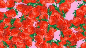 Buy Strawberry video transition background video