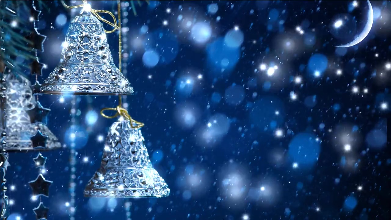 Buy Christmas Bells Decoration Video Video Background