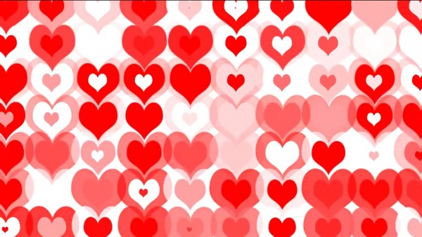 buy hearts video background