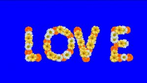 By title love video background