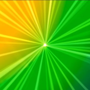 Buy Animated abstract lights video on green background