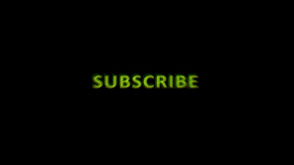 Buy Subscribe animated text video